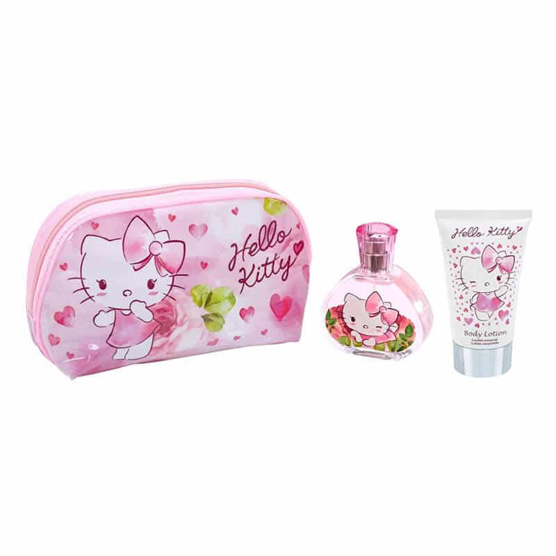 101987261 Hello Kitty Toiletry Bag EDT 50ml + Body Lotion 100ml – Maison
